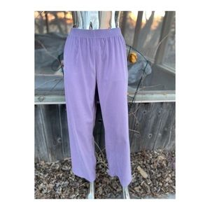 Vintage High Waisted Lilac Trousers Pants